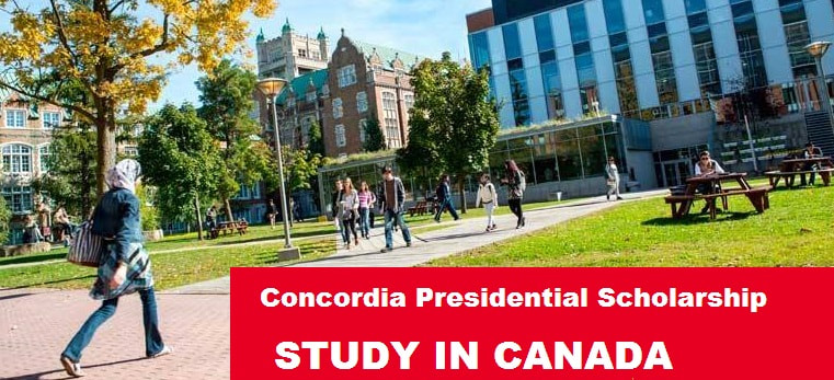 Concordia Presidential Scholarships In Canada