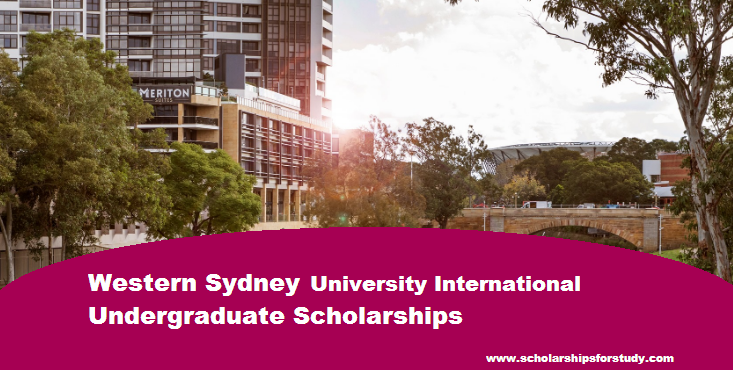 Western Sydney University  International Undergraduate Scholarships